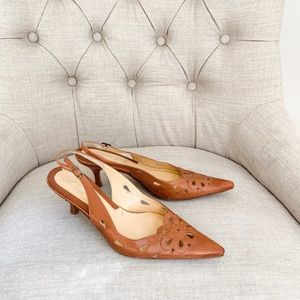 Via Spiga sling back pumps